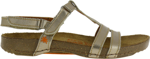 Art 0946S I Breathe Metalic T-Bar Sandal