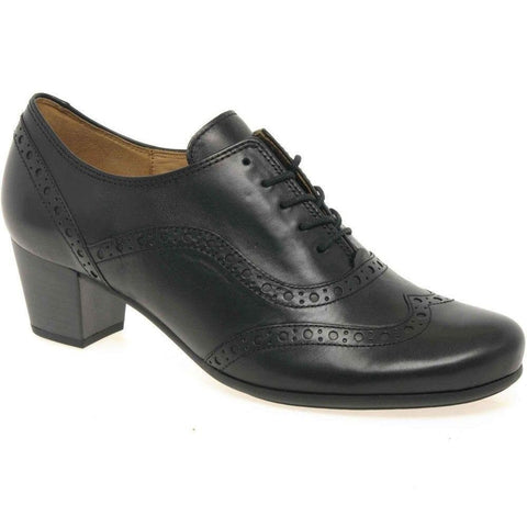GABOR 05.460 Denver Women's Heeled Lace up Brogue Shoe