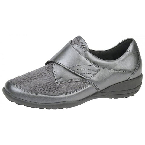 Waldlaufer K01304 K-Fit Katja-Soft Women's Velcro Shoes