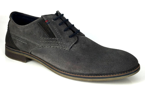 s.Oliver Mens suede laced shoe