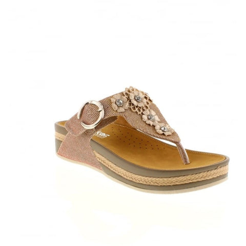 Rieker V1451  Toe Post Sandal