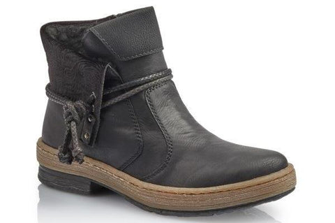 Rieker Z6771 Womens Ankle Boots