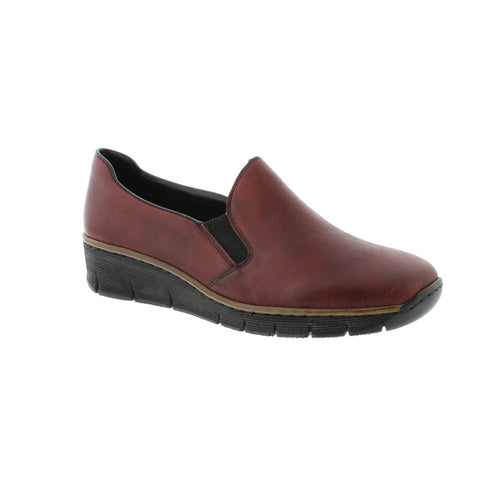 Rieker 53766 Womens slip on shoe