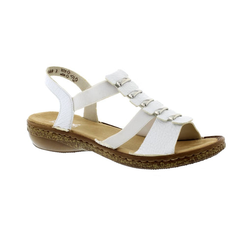 Rieker 62850 Women's Elasticated Sandal