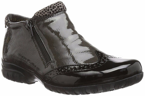 Rieker L4696 Womens Twin-Zip Ankle Boot