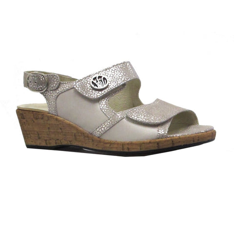 Waldlaufer 341012 Womens Wedge Sandal
