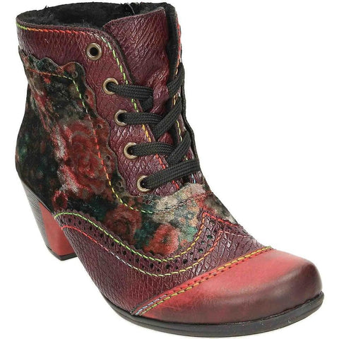 Rieker Y7213 Women's Heeled Ankle Boots