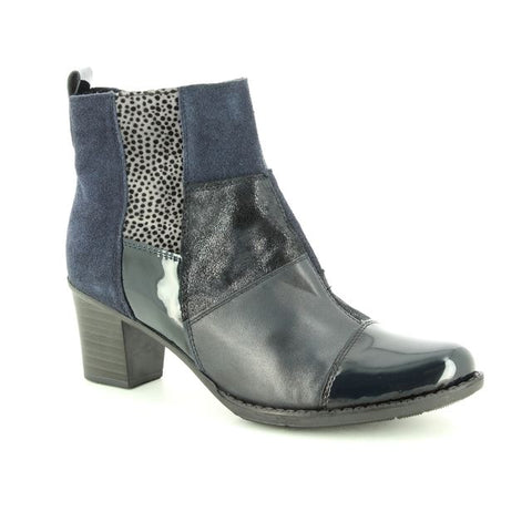 Rieker Z7686  Women's Heeled Ankle Boots