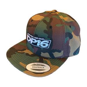 Dezert People 16 Camo Snapback Hat