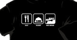 Off Road Action - Eat, Sleep, Off Road T-Shirt