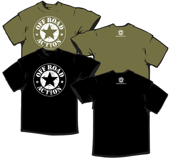 Off Road Action - Star T-Shirt