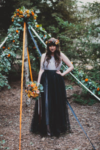 Enchanted Fall Wedding Photo Shoot
