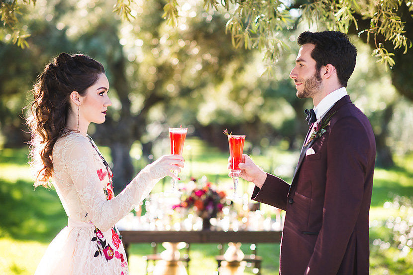 High Fashion Fall Wedding Inspiration