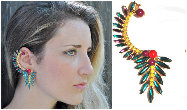 Pre-Order the Bird of Paradise Ear Cuff