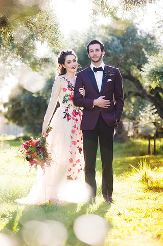 The Floral Fantasy Lace Wedding Dress