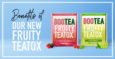 Benefits of Our Delicious Fruity Teatoxes 😋