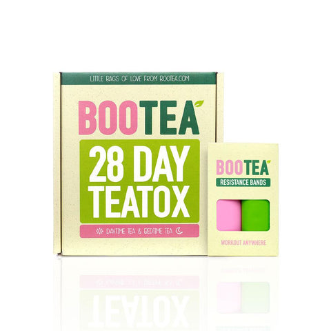 28 Day Teatox + Resistance Bands Bundle Bootea