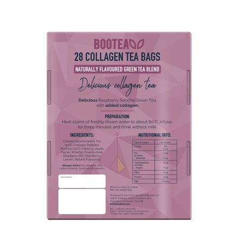 Collagen Tea greentea bootea