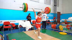 Female Athlete in Olympic Weightlifting & Program