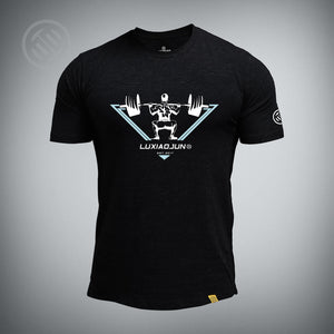LUXIAOJUN Squat T-shirt - LUXIAOJUN Weightlifting
