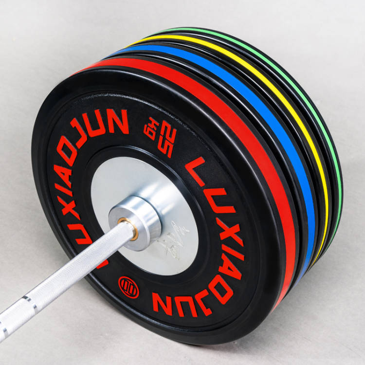LUXIAOJUN KG Black Training Plates - LUXIAOJUN Weightlifting