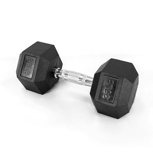 Rubber Hex Dumbbells- LUXIAOJUN Strength Training