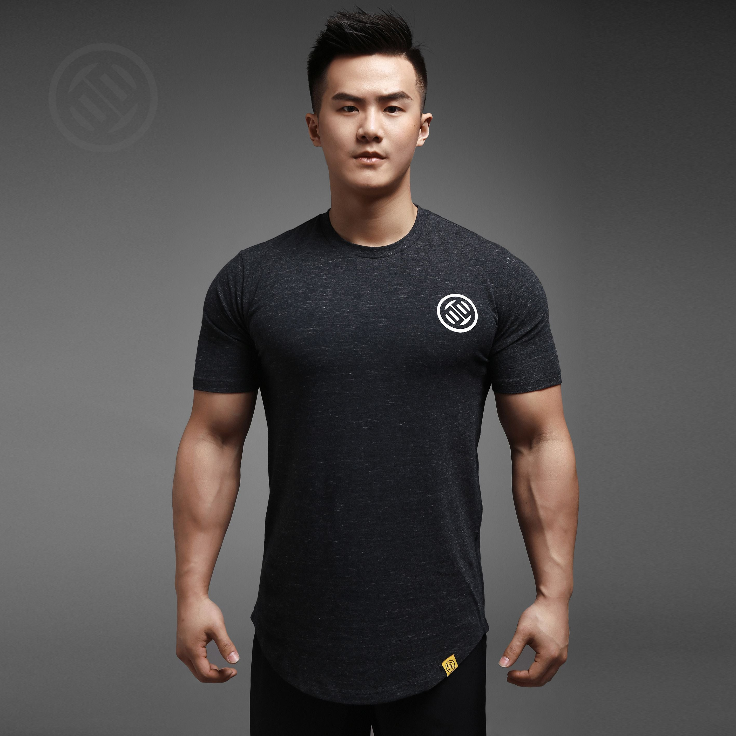 LUXIAOJUN Training T-Shirt White Logo