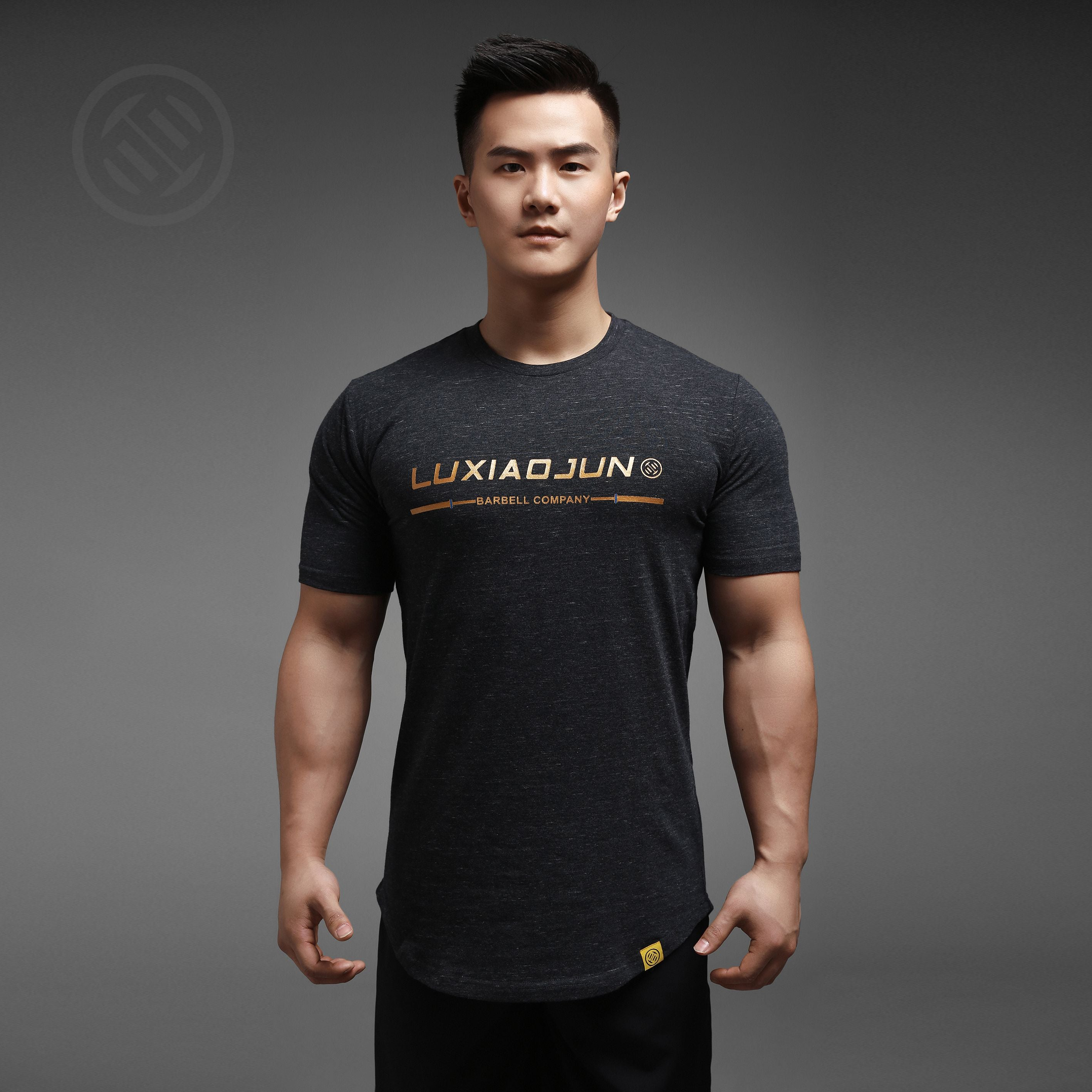 LUXIAOJUN Training T-Shirt Gold Script