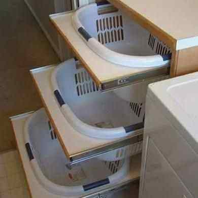 Hot Laundry Room Storage Ideas