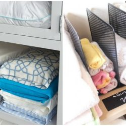 Here are inspired linen closet organization ideas to help you get your linens neat and tidy at home.