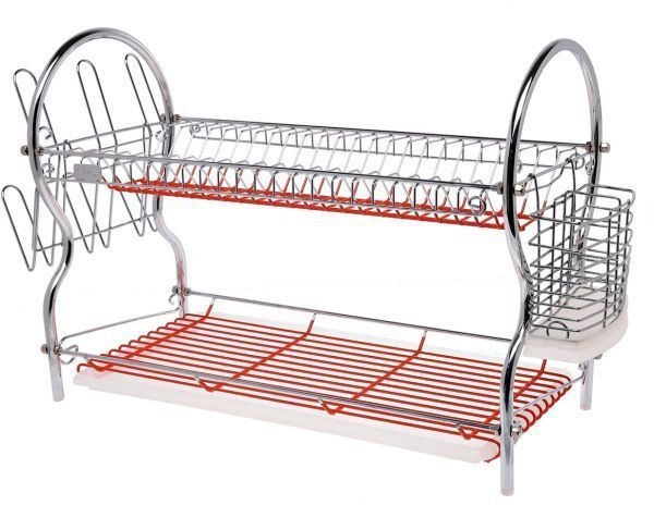 Hot Red Dish Rack