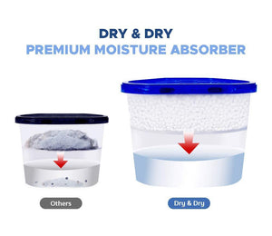 Save on dry dry 48 boxes net 10 oz box premium moisture absorber musty odor eliminator boxes to control excess moisture for basements closets bathrooms laundry rooms