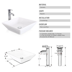 Get u eway 13 inch white bathroom vanity and sink combo 1 5 gpm water save faucet solid brass pop up drain single small bathroom adjustable built in clapboard bt8w a7