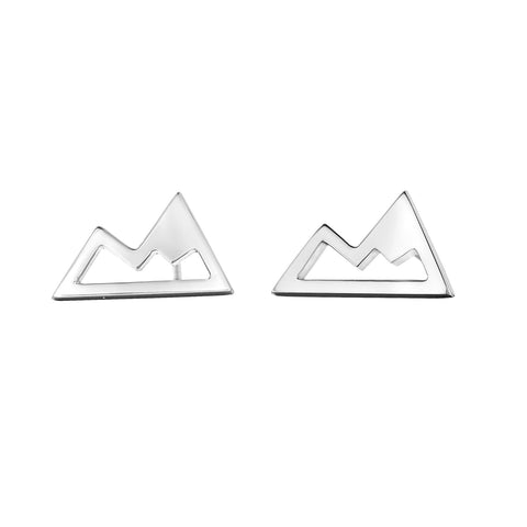Sterling Silver Whistler mountain Earrings