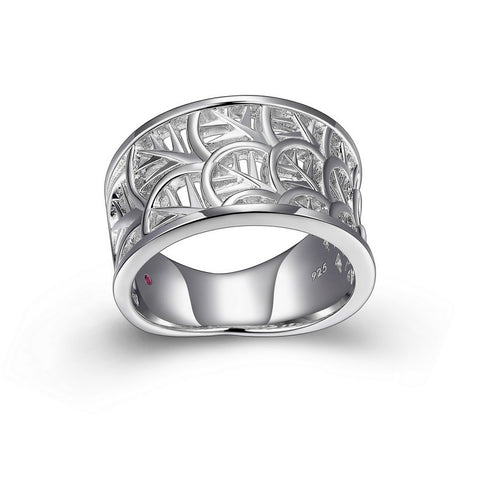 Elle - Sterling Silver 'Bloom' Band