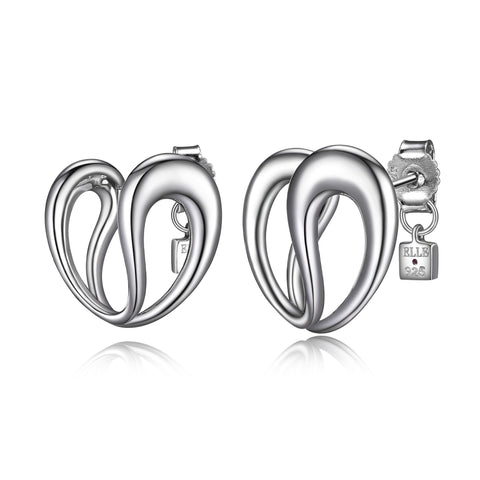 "Elle - Sterling Silver ""Caramel"" Earrings"