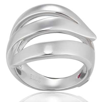 "Elle - Sterling Silver ""Waves"" Ring"