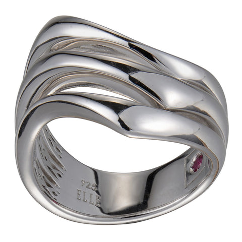"Elle - Sterling Silver ""Flare"" Ring"