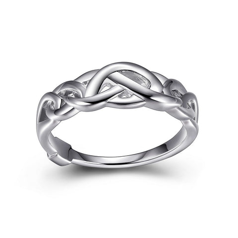 "Elle - Sterling Silver ""Infinity"" Ring"