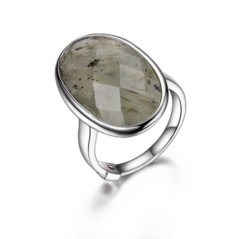 "Elle - Sterling Silver ""Mystere"" Ring"