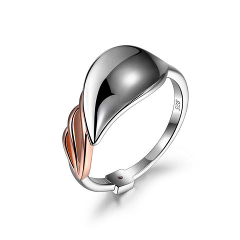 "Elle - Sterling Silver ""Petal"" Ring"