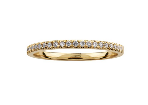 10k Diamond Wedding Band