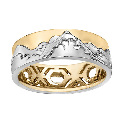 Mountain Scene Ring
