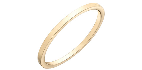 10k Gold 1mm Ring