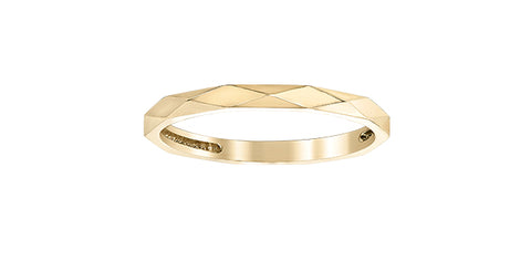 10k Gold Stacker Ring