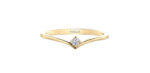 14k Diamond Tiara Ring