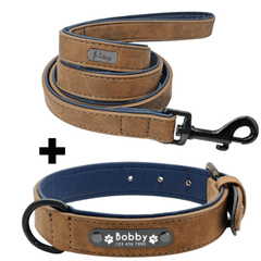 Collier en Cuir Personnalisable | Doggy & Co - Doggy & Co