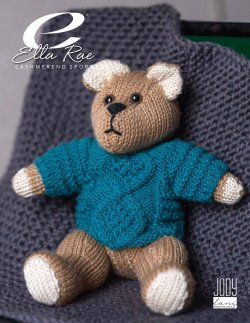 Cashmereno Sport Teddy Bear in Sweater