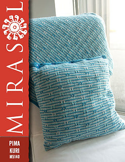 Pima Kuri Oyster Bay Blanket & Cushion