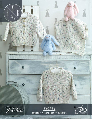 Babe Freckles Sydney Sweater, Cardigan &Blanket